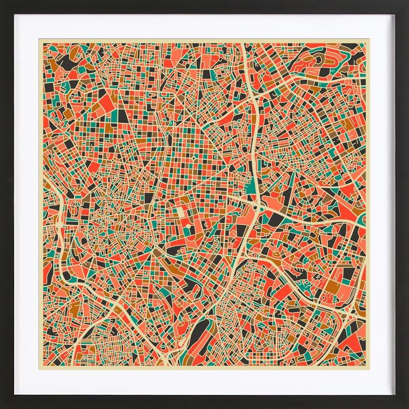 Madrid Framed Print