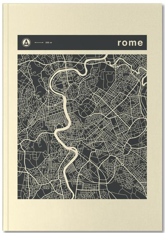 City Maps Series 3 Series 3 - Rome Notebook