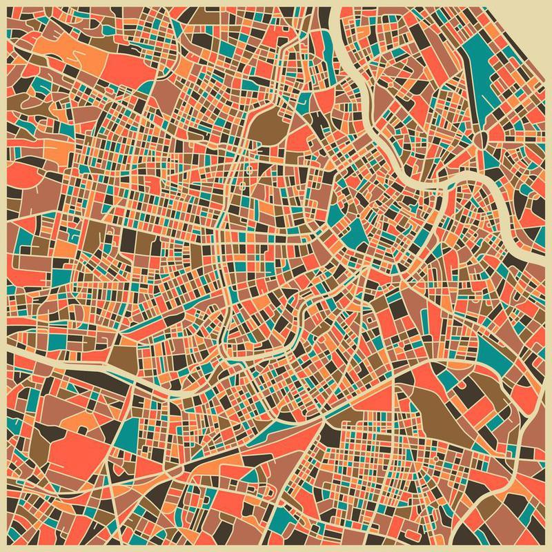 Vienna acrylglas print
