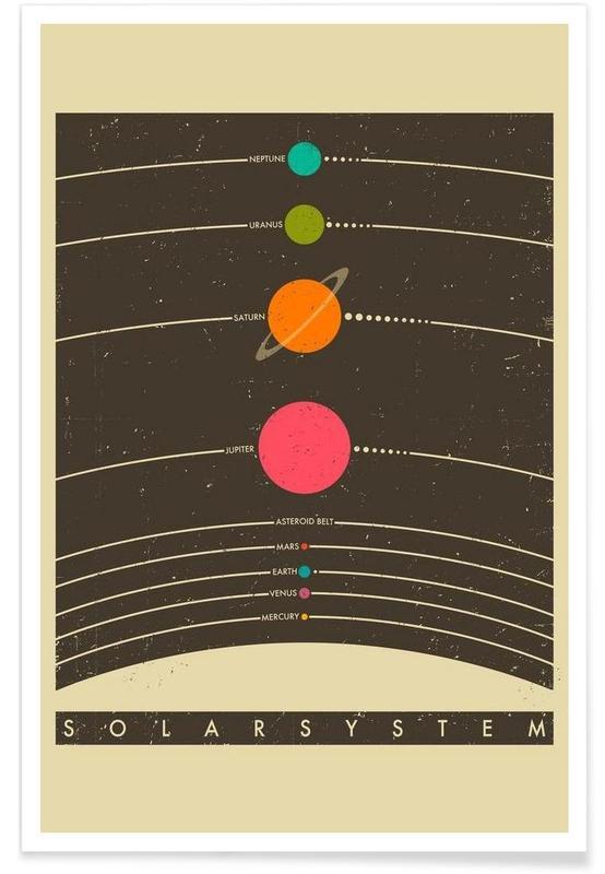 Solar System affiche