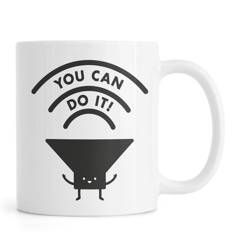 You Can Do It -Tasse