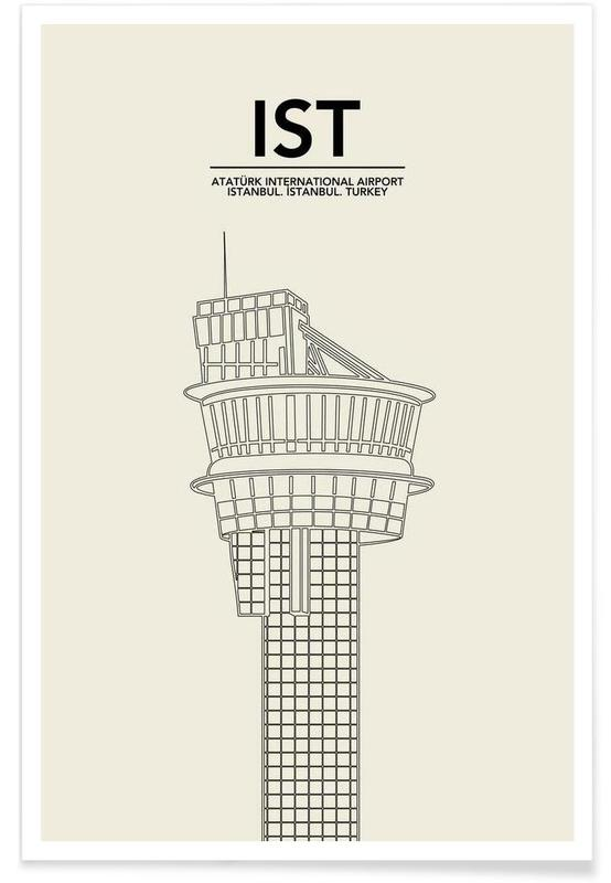 IST Istanbul Tower -Poster