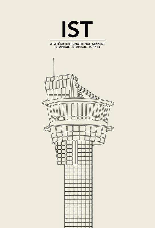 IST Istanbul Tower Acrylic Print