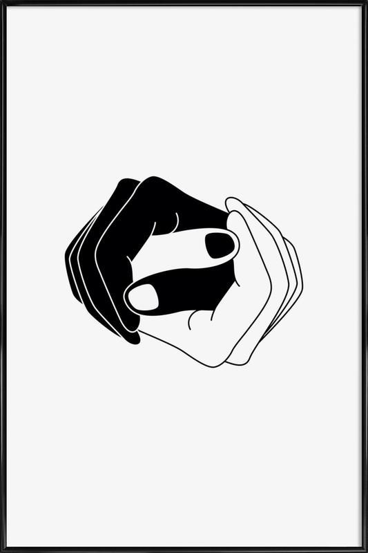 Yin and Yang ingelijste poster