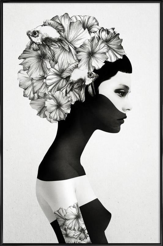Marianna -Bild mit Kunststoffrahmen