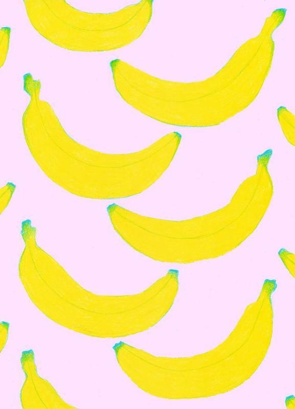 Spontaneous Bananas canvas doek
