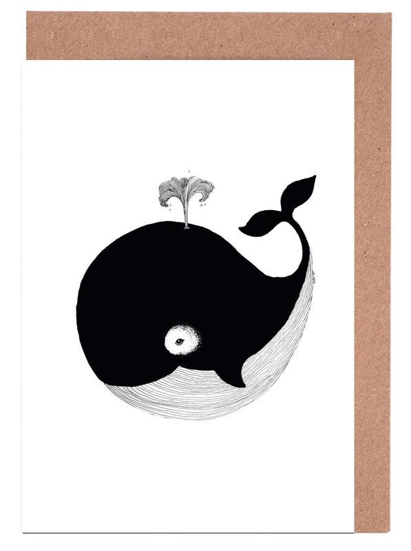 Whale Greeting Card Set