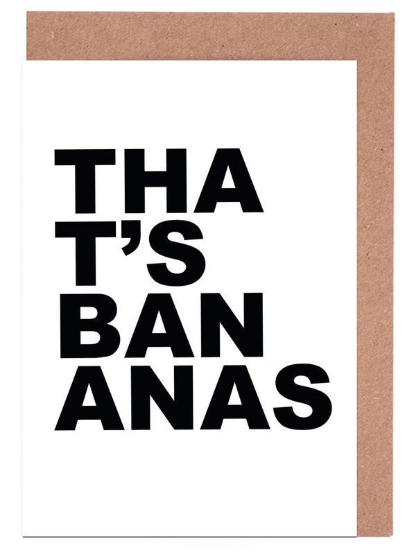 That's Bananas cartes de vœux