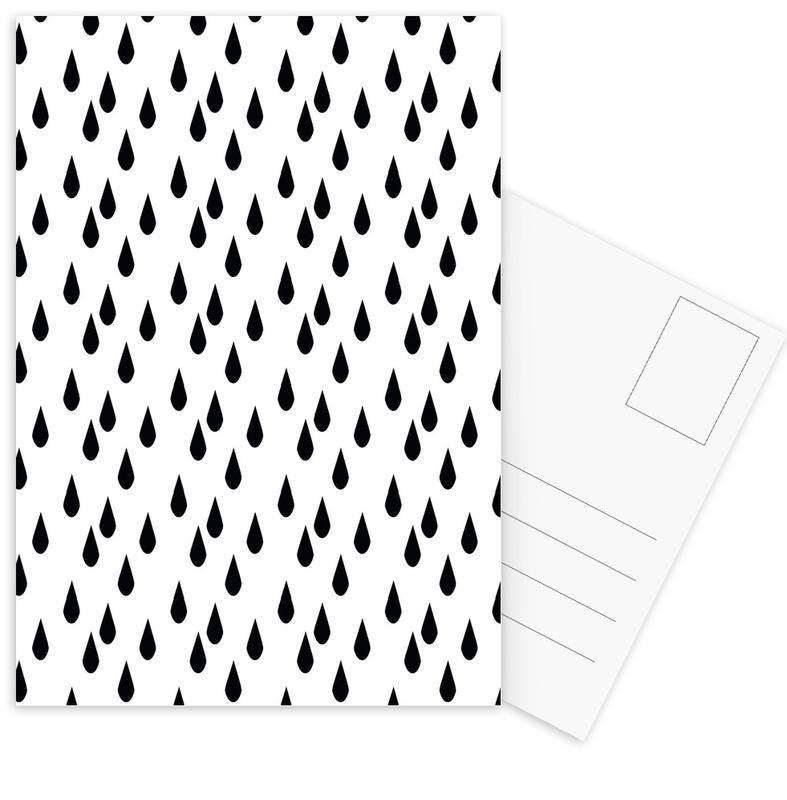 Rain Postcard Set