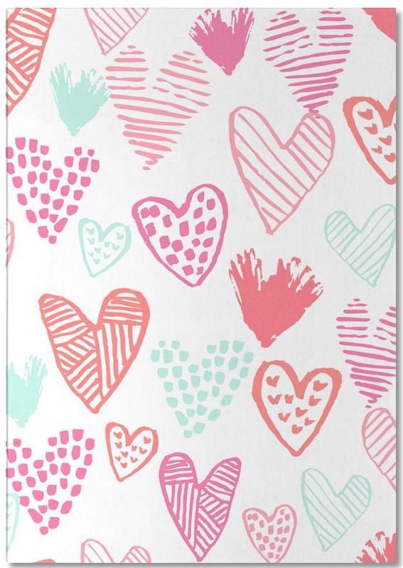 Valentines Pretty -Notizblock