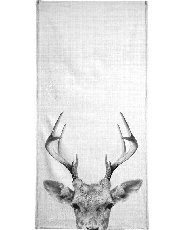 Print 38 serviette de bain
