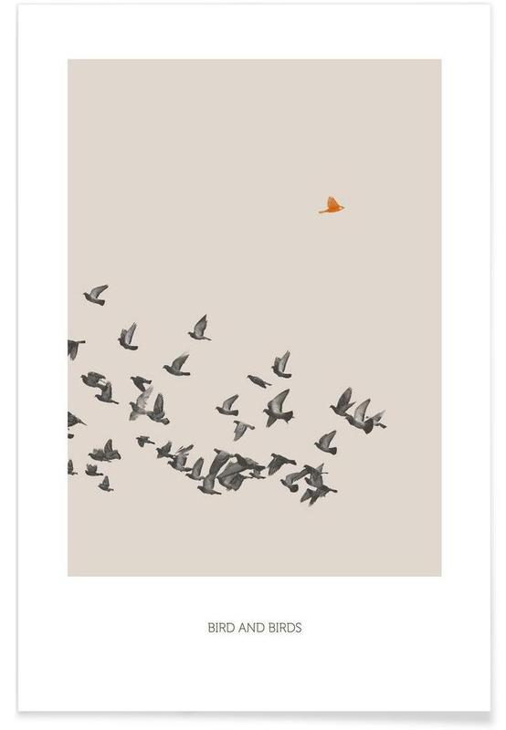 Bird And Birds Plakat