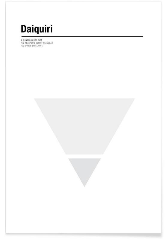 Minimalist Daiquiri Poster