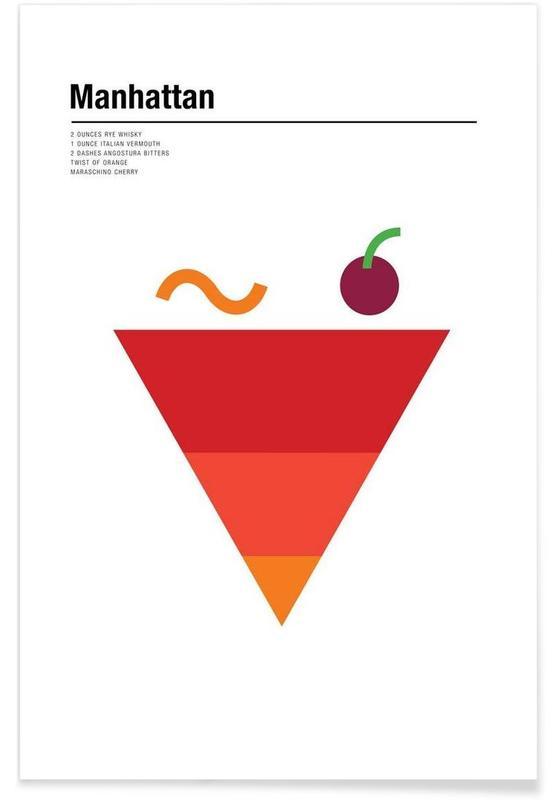 Minimalist Manhattan Poster