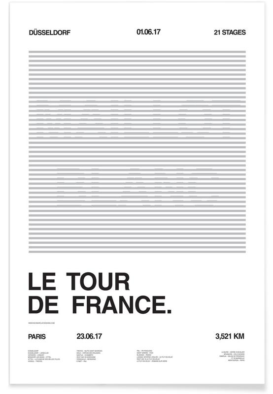 Maillot Blanc Poster