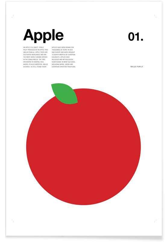 Minimalist Apple Poster