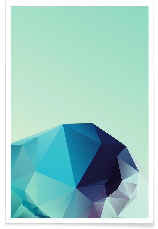 Geometric 2 -Poster
