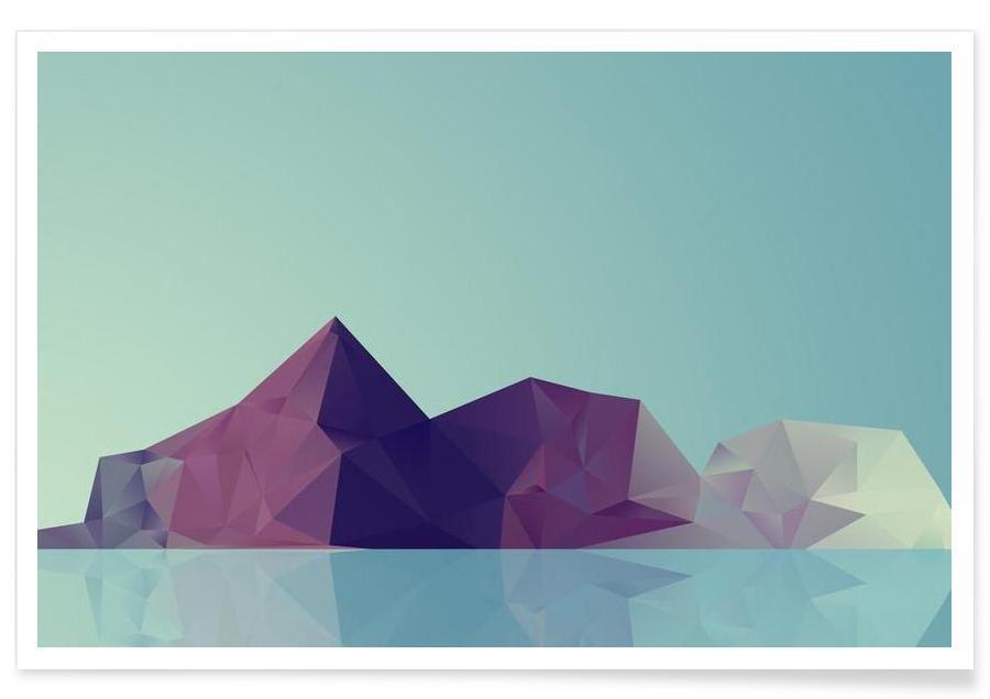 Landscape Study poster