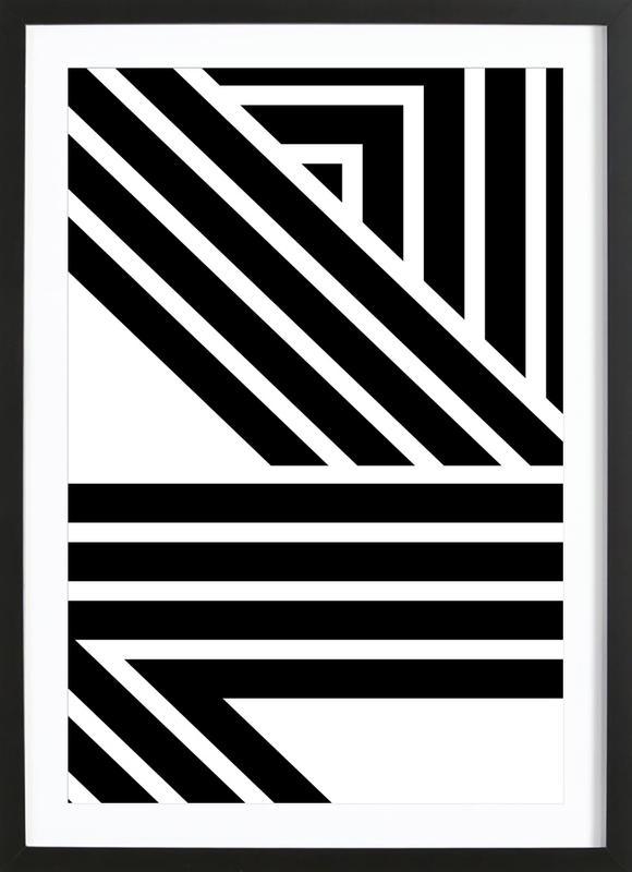 Starlines 2 Framed Print