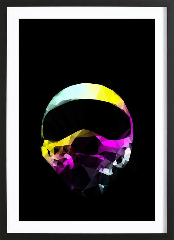 With the lights out Pilot Framed Print