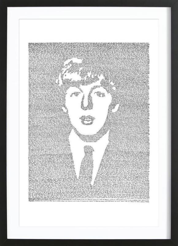 Paul -Bild mit Holzrahmen