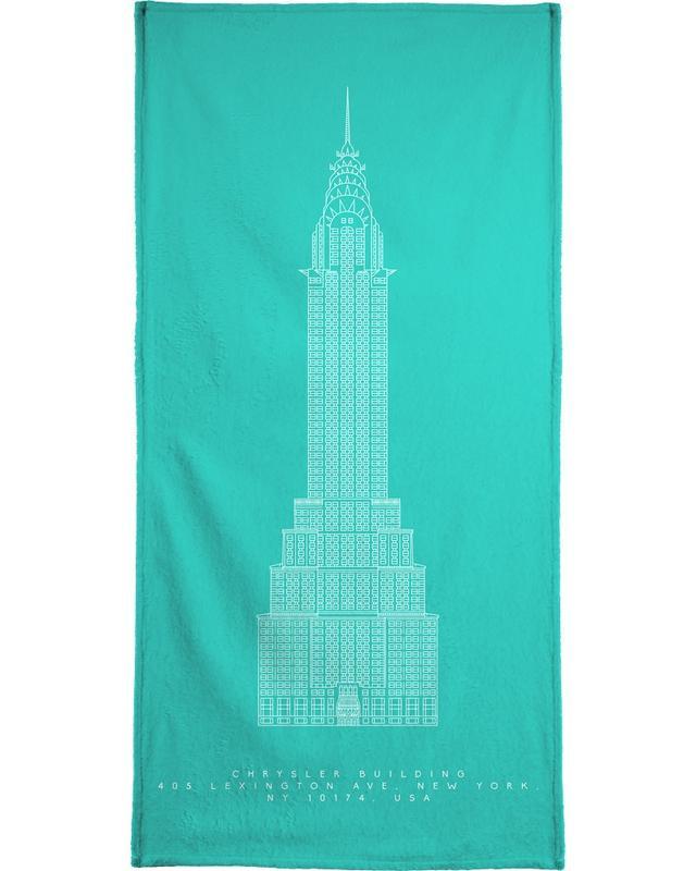 The Chrysler Building -Handtuch