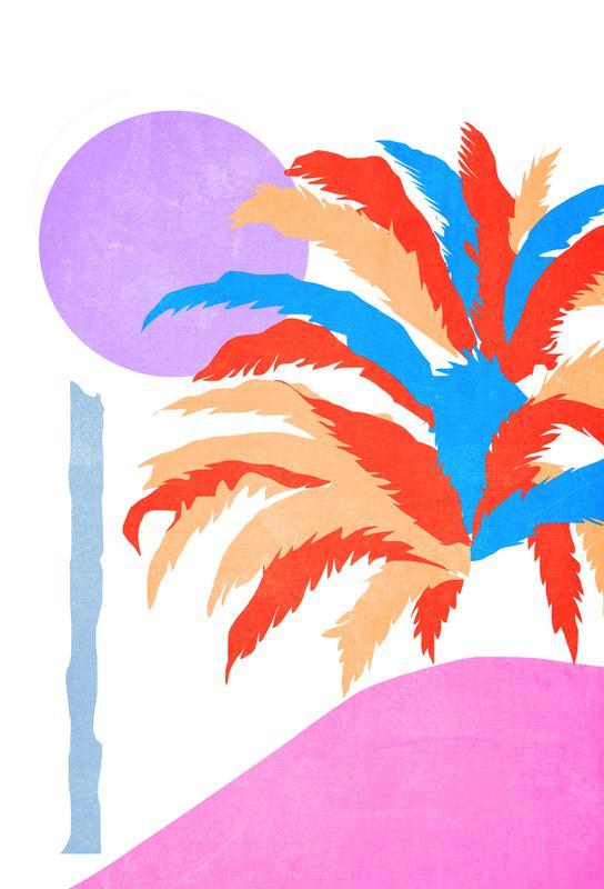 Palm 5 tableau en verre