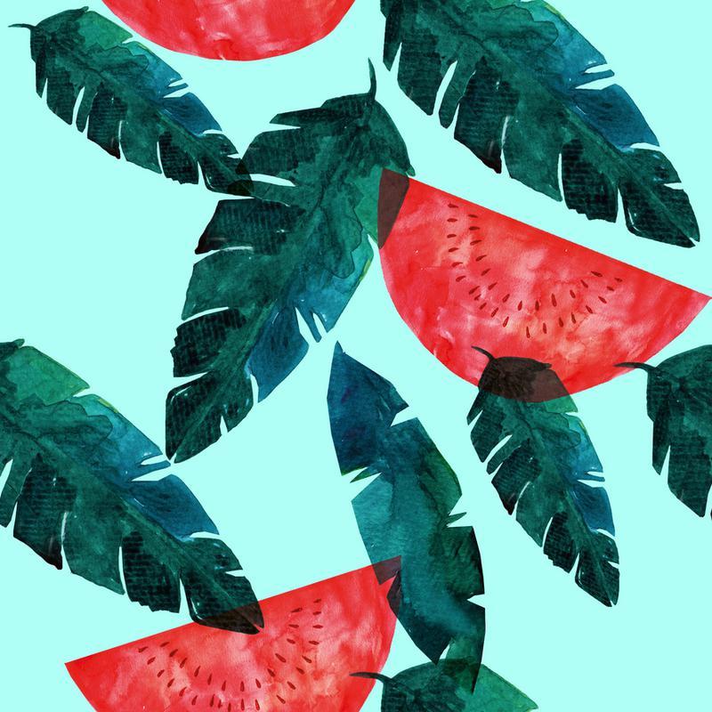 Melon Pattern Canvas Print