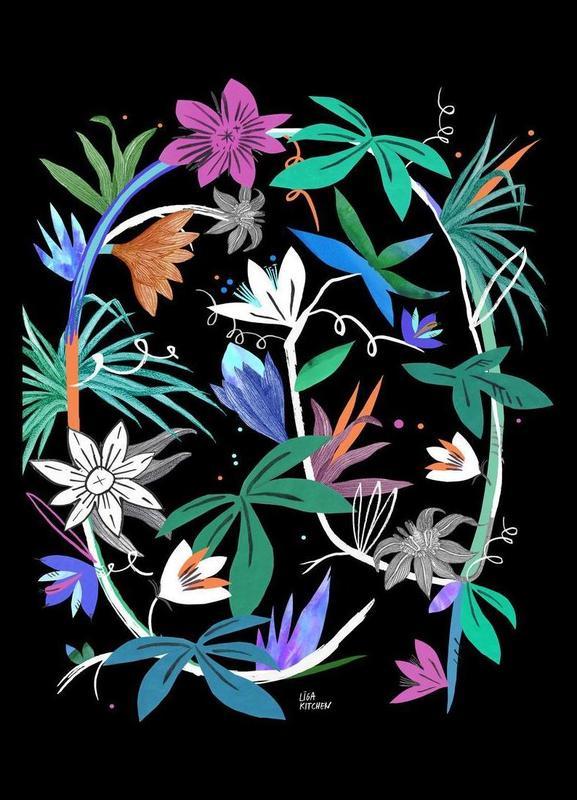 Botanica Passionflower 4 toile