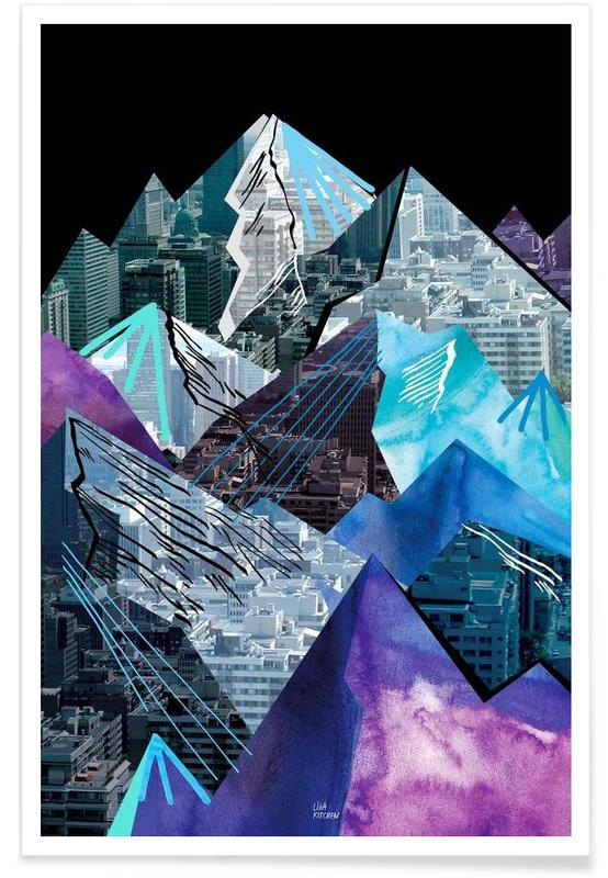 Lost Cities Mountains Poster