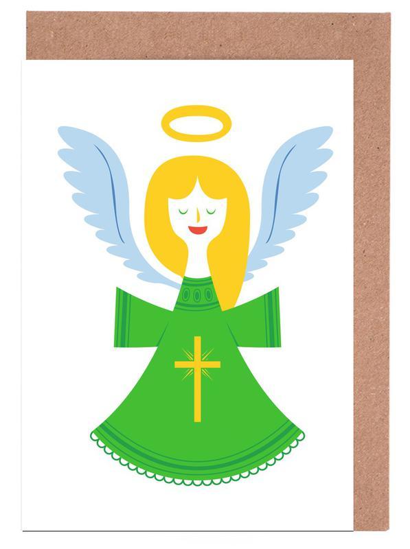 Angel Greeting Card Set