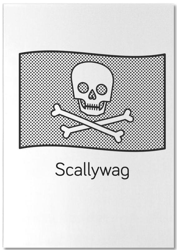Scallywag -Notizblock