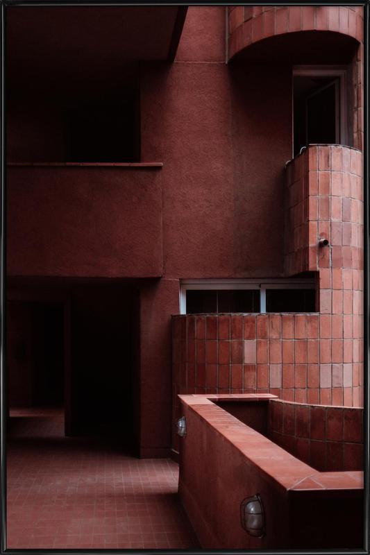 Walden Red 2 -Bild mit Kunststoffrahmen