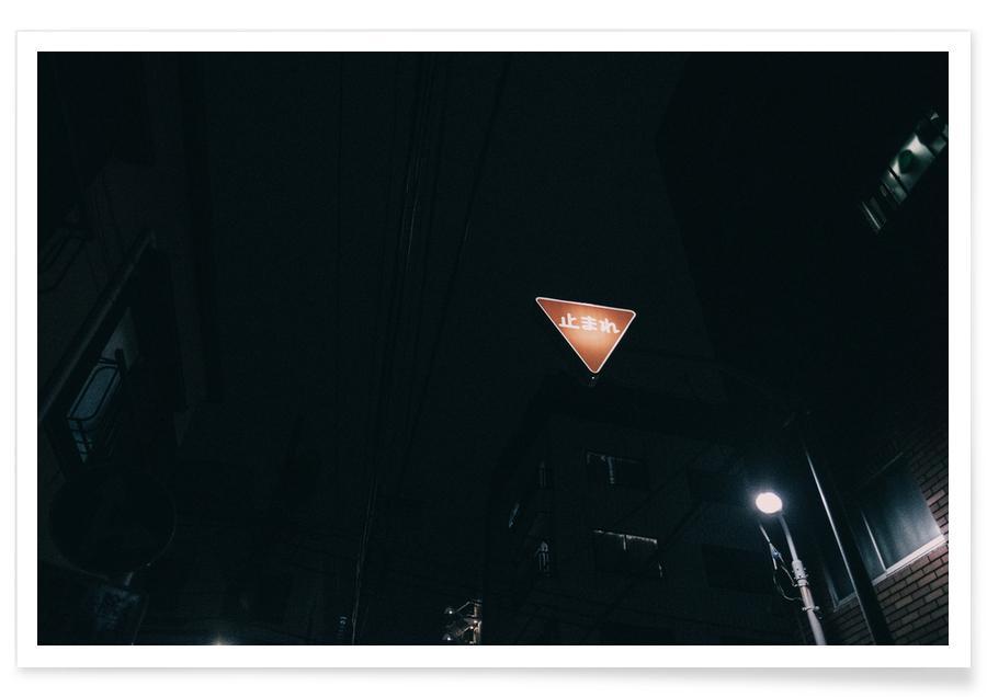 Tokio Nights -Poster