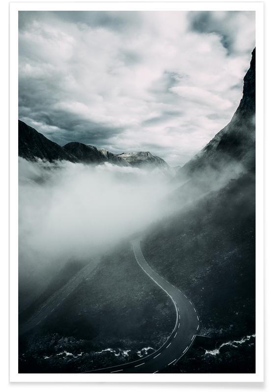 Misty Roads -Poster