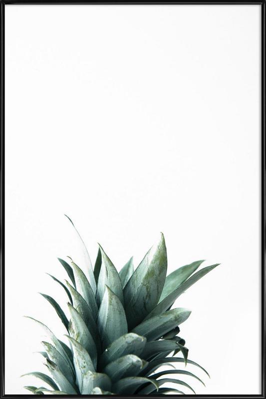 Pineapple -Bild mit Kunststoffrahmen