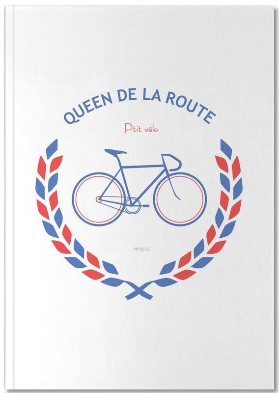 Queen Bleu Rouge Notebook