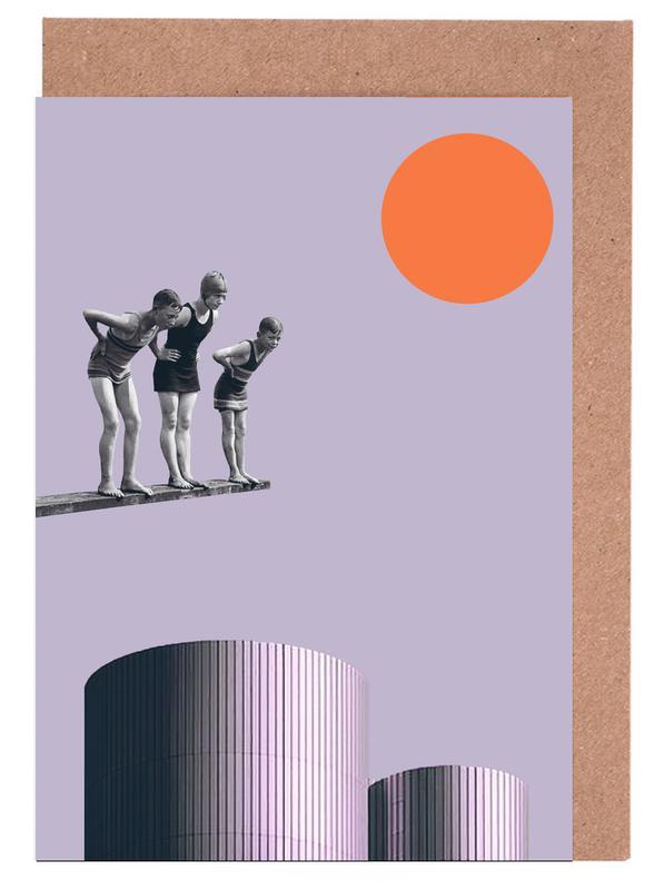 Summer Time Fun Greeting Card Set