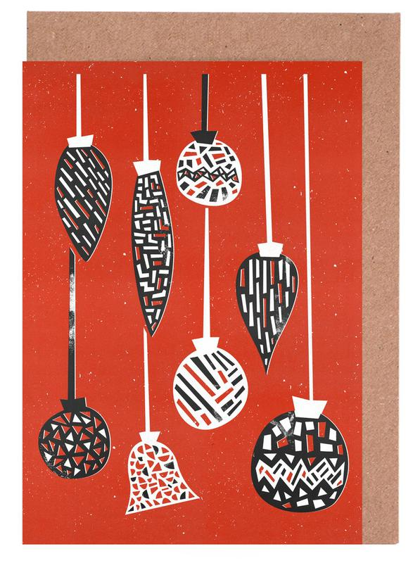 Baubles Greeting Card Set