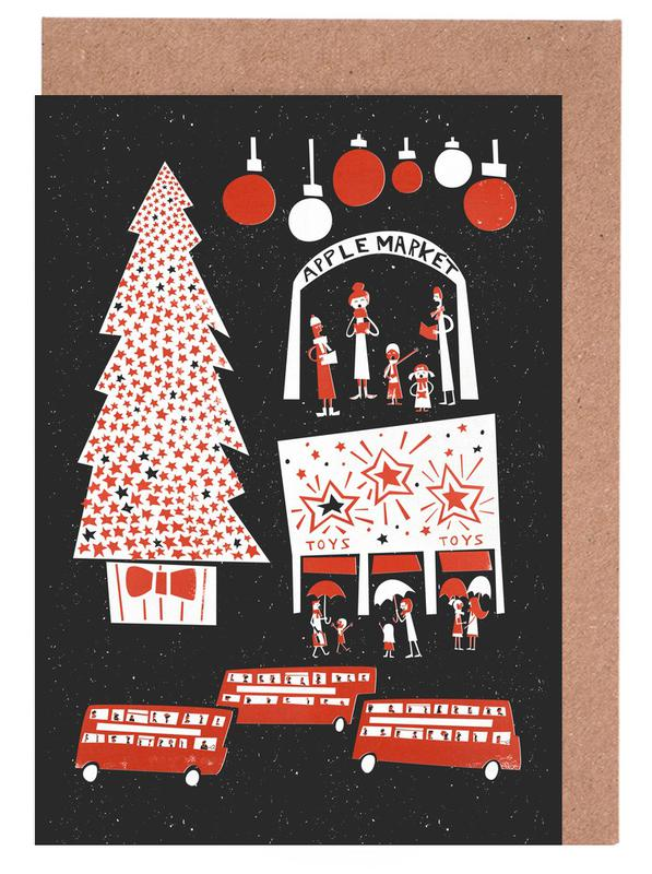 Christmas In London cartes de vœux