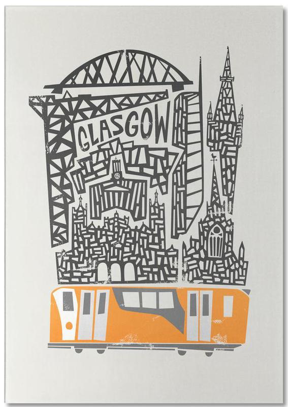 Glasgow Cityscape Notepad