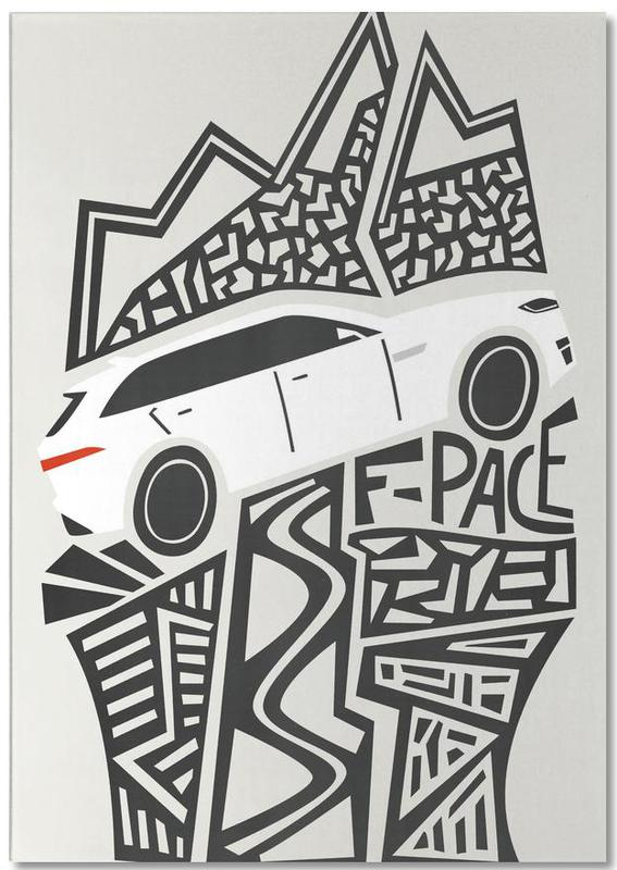 F Pace Notepad
