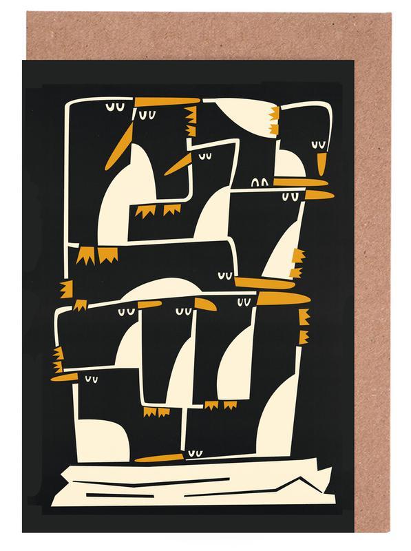 Penguins cartes de vœux