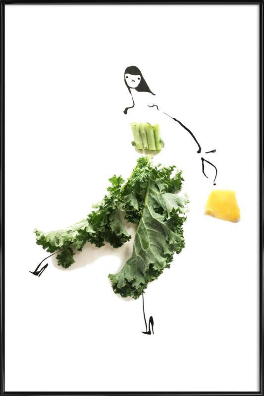 Kale 4 affiche encadrée