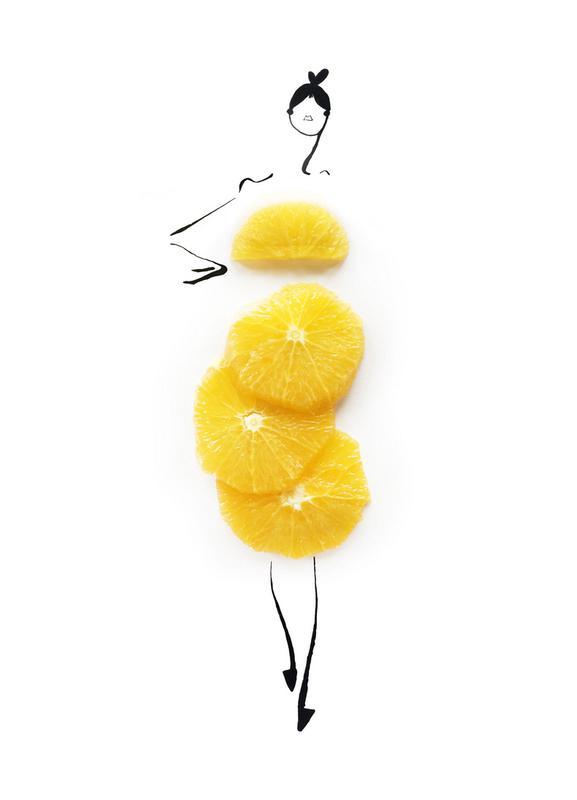 Oranges canvas doek