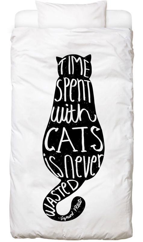 Freud's Cat Bettwäsche