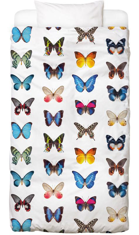 Colourful Butterflies Linge de lit