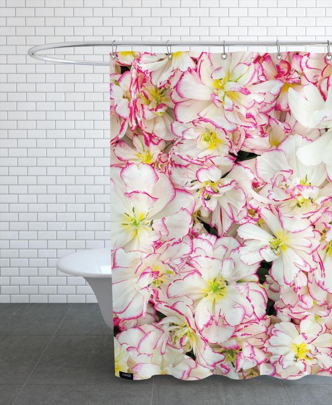 Romantic Tulips Shower Curtain