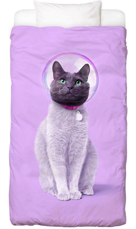 Space Cat Bettwäsche