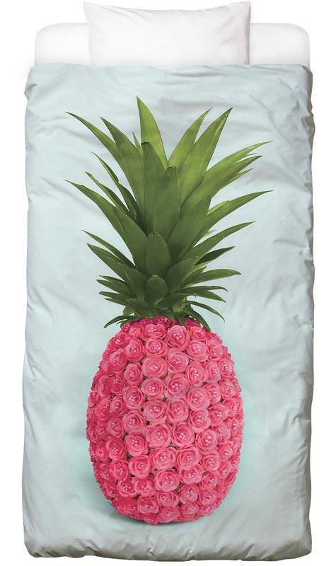 Pineapple Roses Bed Linen